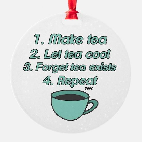Tea Lover Humor Ornament