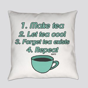Tea Lover Humor Everyday Pillow