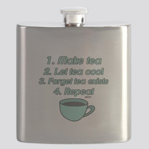 Tea Lover Humor Flask