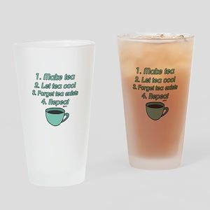 Tea Lover Humor Drinking Glass