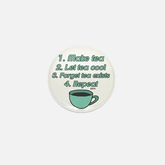 Tea Lover Humor Mini Button