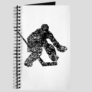 Vintage Hockey Goalie Journal