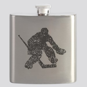 Vintage Hockey Goalie Flask
