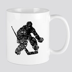 Vintage Hockey Goalie Mugs