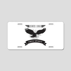 birthday142light 1960 Aluminum License Plate
