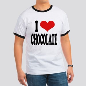 I Love Chocolate Ringer T