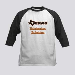 Texas Veterinarian Technician Baseball Jersey
