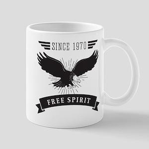Birthday Born 1970 Free Spirit Mug