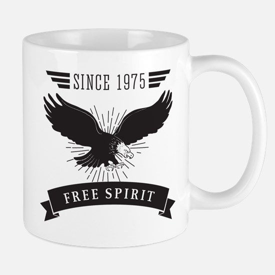 Birthday Born 1975 Free Spirit Mug
