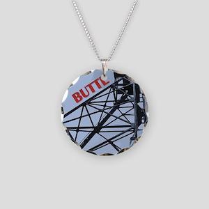 Butte 1 Necklace Circle Charm