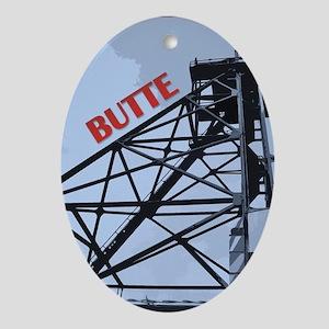 Butte 1 Oval Ornament