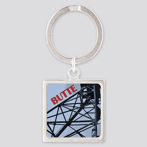 Butte 1 Square Keychain