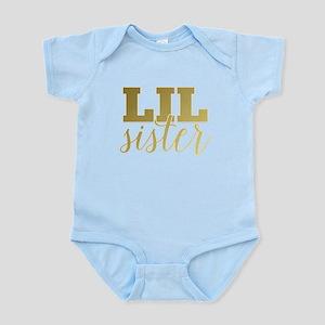 Gold Foil Lil Sister Body Suit