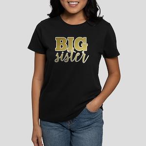 Gold Foil Big Sister T-Shirt