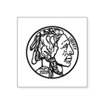 Buffalo Nickel Sticker