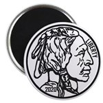 Buffalo Nickel Magnets