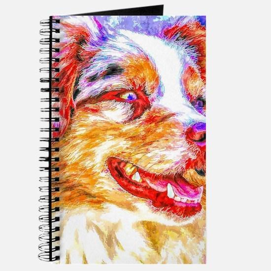 Unique Aussie dog Journal
