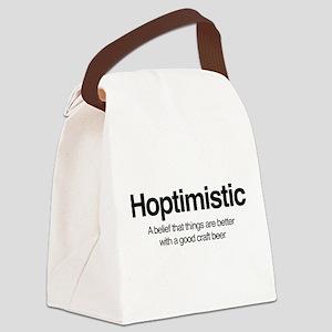 Hoptimistic Canvas Lunch Bag