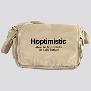 Hoptimistic Messenger Bag
