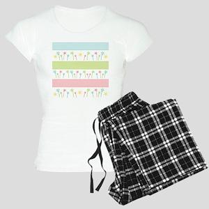 Palm Coast Stripes Women's Light Pajamas