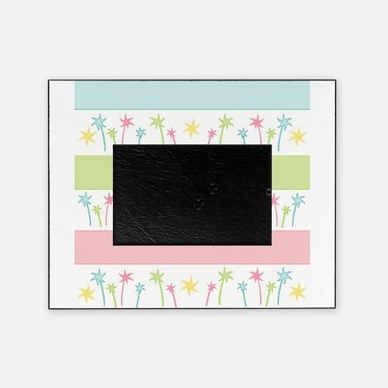 Palm Coast Stripes Picture Frame