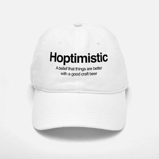 Hoptimistic Baseball Baseball Cap
