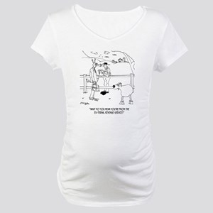 Goat Cartoon 9251 Maternity T-Shirt