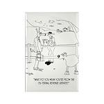 Goat Cartoon 9251 Rectangle Magnet (10 pack)