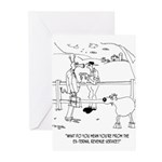 Goat Cartoon 9251 Greeting Cards (Pk of 10)