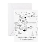 Goat Cartoon 9251 Greeting Cards (Pk of 20)