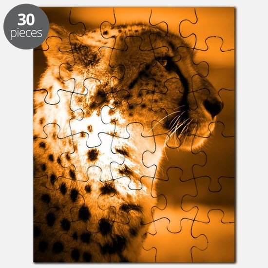 Funny Cheetah Puzzle