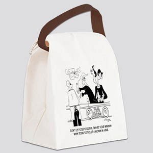Dating Cartoon 9254  Canvas Lunch Bag