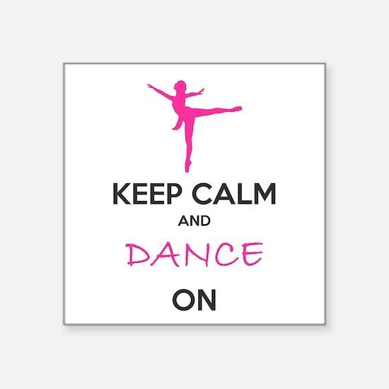 Dancer Gifts Sticker