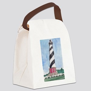 Hatteras Lighthouse Canvas Lunch Bag