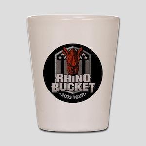 Rhino Bucket 2015 Shot Glass