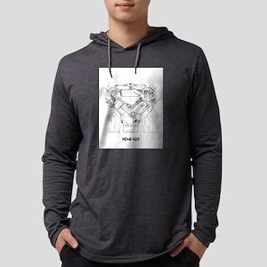 V8 Engine Long Sleeve T-Shirt