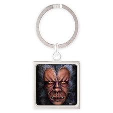 Werewolf Curse Square Keychain