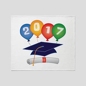 2017 Grad Throw Blanket