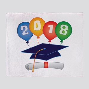 2018 Grad Throw Blanket