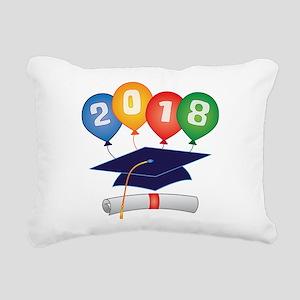 2018 Grad Rectangular Canvas Pillow