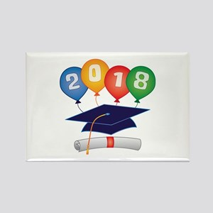 2018 Grad Rectangle Magnet