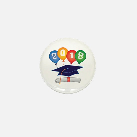 2018 Grad Mini Button
