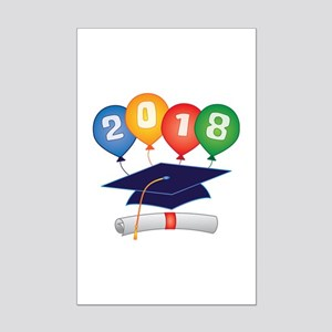 2018 Grad Mini Poster Print