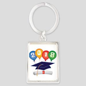 2018 Grad Portrait Keychain