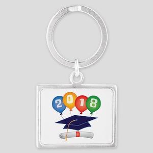 2018 Grad Landscape Keychain