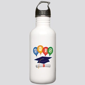 2018 Grad Stainless Water Bottle 1.0L