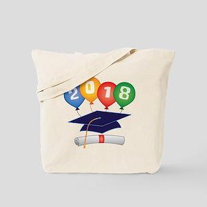 2018 Grad Tote Bag
