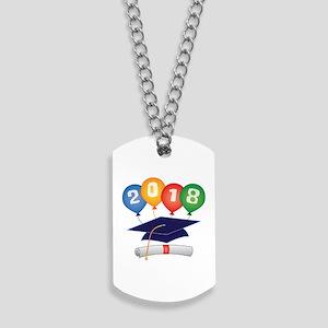 2018 Grad Dog Tags
