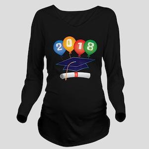 2018 Grad Long Sleeve Maternity T-Shirt