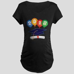 2018 Grad Maternity Dark T-Shirt